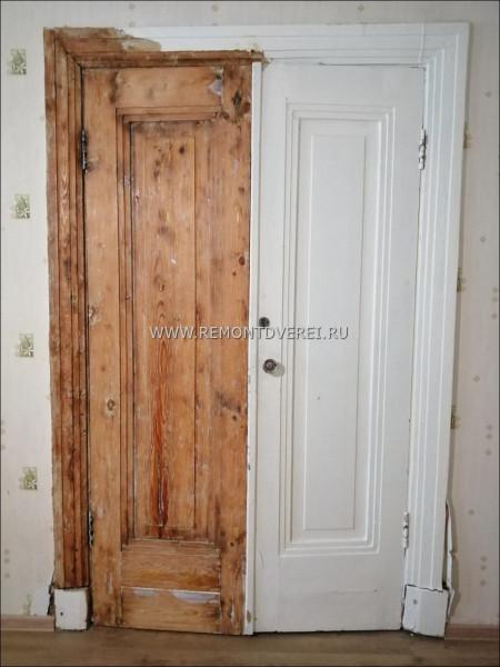 Восстановление входной сталинской двери