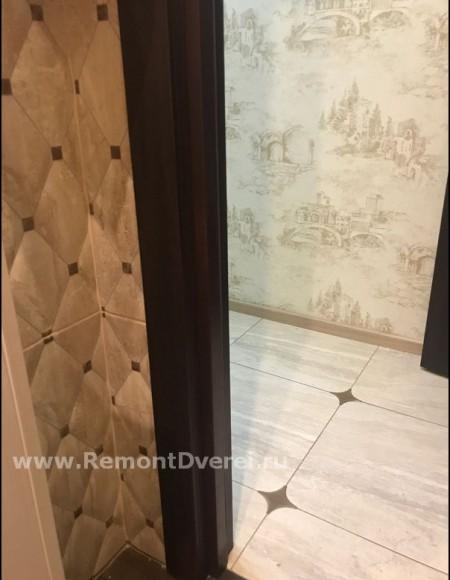Реставрация дверного косяка