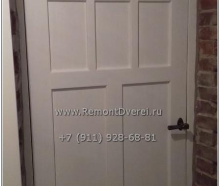 ремонт межкомнатной двери на ул Большая Пушкарская дом 2