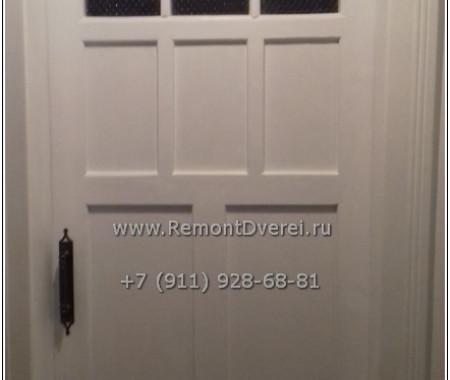 Реставрация деревянной межкомнатной двери. Боткинская ул. 1