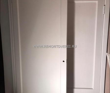Реставрация сталинских дверей Грибалёва 6