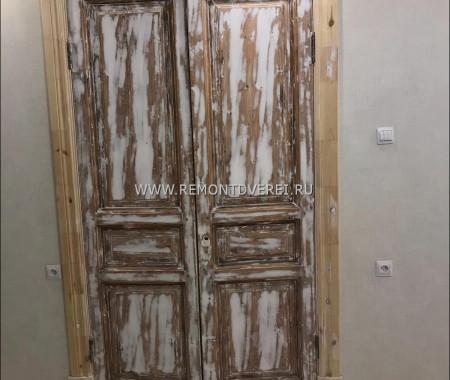 Ремонт и восстановление деревянных дверей дореволюционный фонд