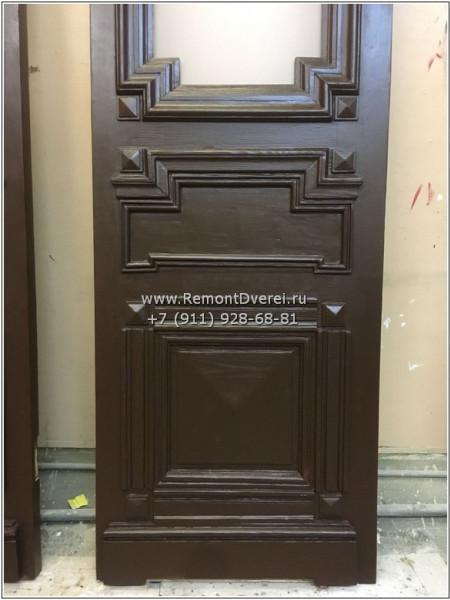 Наб. Мойки 81 реставрация входной двери.