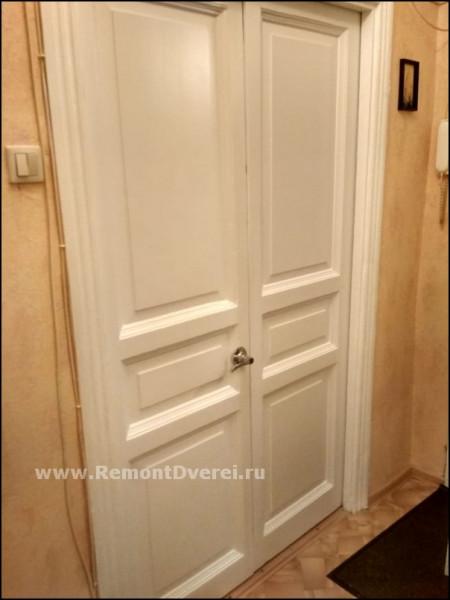 Реставрация межкомнатных деревянных дверей, Обводный 57