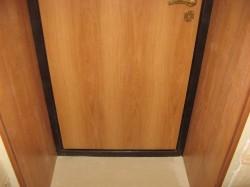 Отделка дверных откосов МДФ панелями