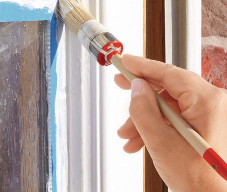 Покраска старых деревянных окон в спб