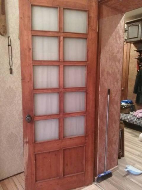 Реставрация сталинских деревянных дверей